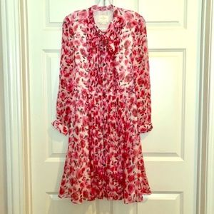 Kate Spade floral silk dress